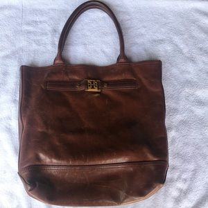 Tori Burch leather tote